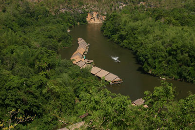 The River Kwai Jungle Rafts Hotel Kanchanaburi