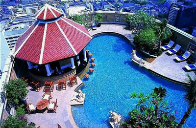 Intercontinental Bangkok Hotel Pool Pictures Thai Hotels